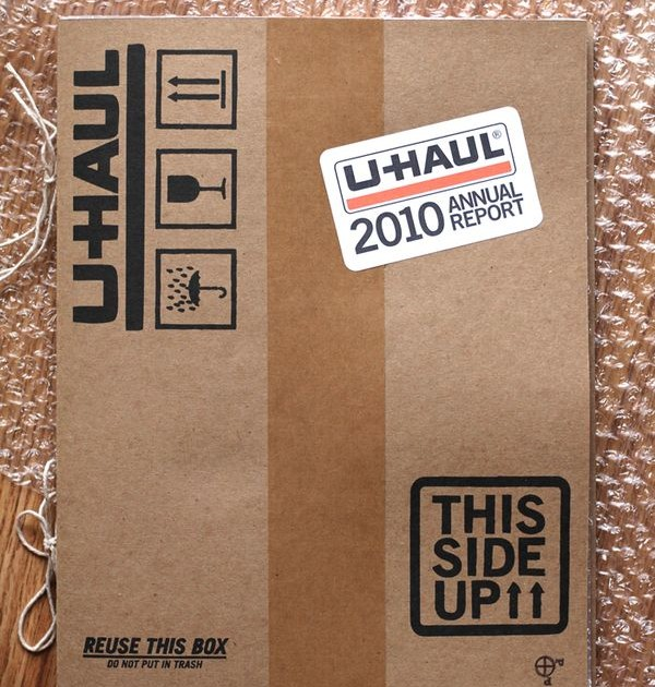 U-HAUL Annual Report 2010
