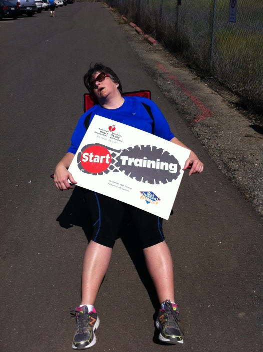 Amy at 11 miles