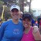 Ally and Brigida - running buddies since 2006!